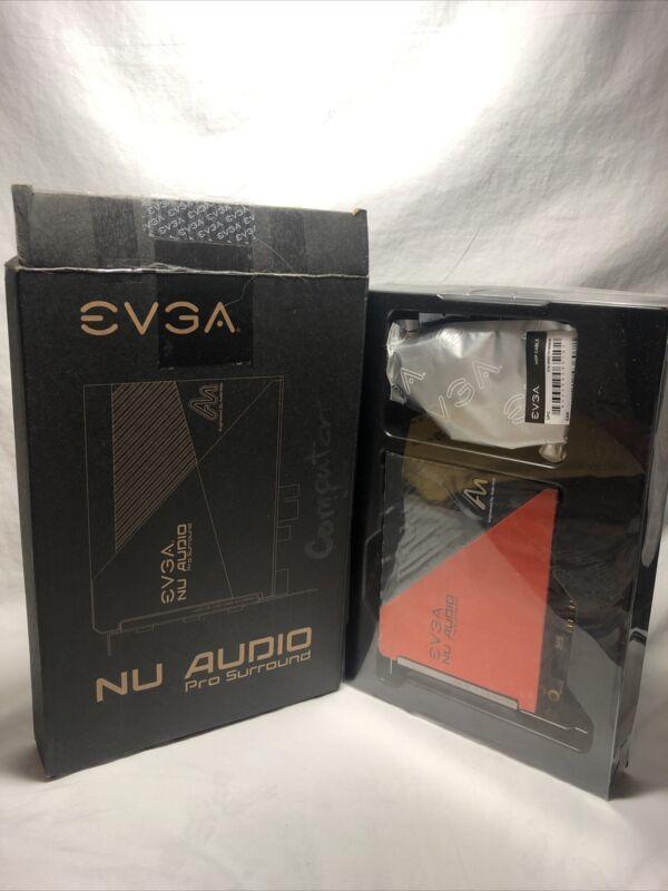 EVGA Nu Audio Pro Surround Add-on Card New Open Box