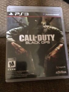 Call of duty PS3 black ops