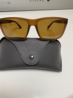 Polo Ralph Lauren Polarized Sunglasses Brown Frames Lens Pony (Ralph Lauren Lenses)