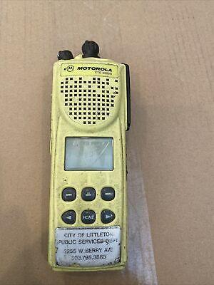 Motorola Yellow Xts3000 R Xts3000r Radio Model H09ucf9pw7bn