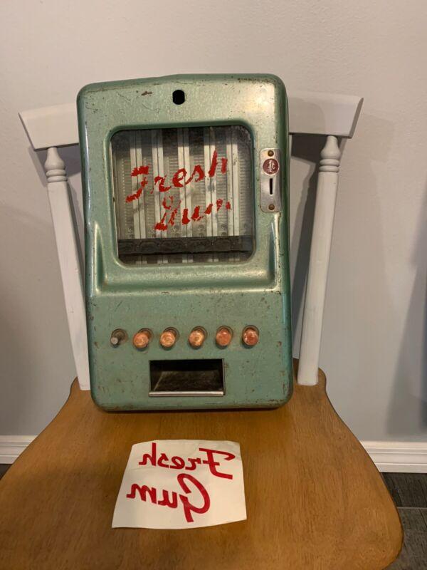 Vintage Stoner One Cent Penny Gum Vending Machine