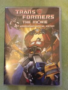 Transformers The Movie - 20th Anniversary Special Edition DVD