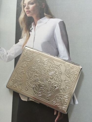 SILVER PLATED BUSINESS CARD CASE is in WONDERFUL PRE-LOVED CONDITION