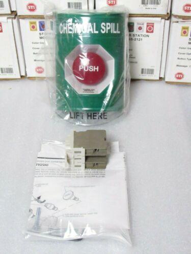 STI SS-2121 Green Stopper® Station with Stopper® Station Shield [CTOKT]
