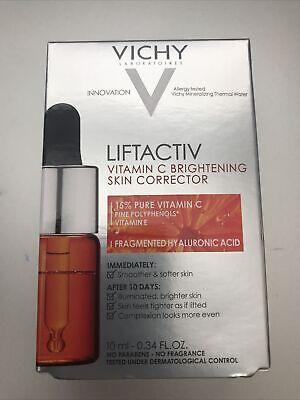 Vichy LiftActiv 15% Pure Vitamin C Serum Brightening Skin Corrector Anti Aging