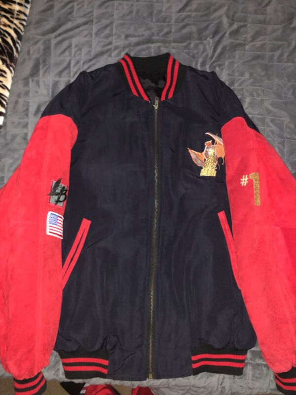 """Meat Loaf """"Bat Out of Hell"""" Tour Jacket Size L"""