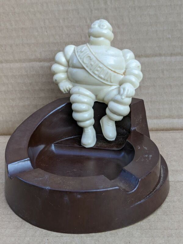 MICHELIN MAN BAKELITE ASHTRAY Michelin Tires