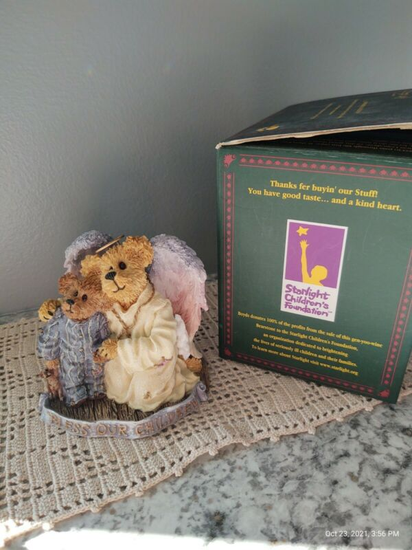 Boyds Bears And Friends Hope Angelwish And Everychild Bless Our Children #228361