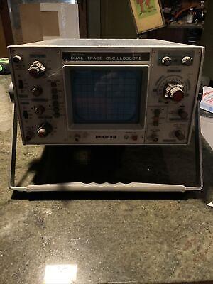 Leader Lbo-508a  20mhz Dual Trace Oscilloscope