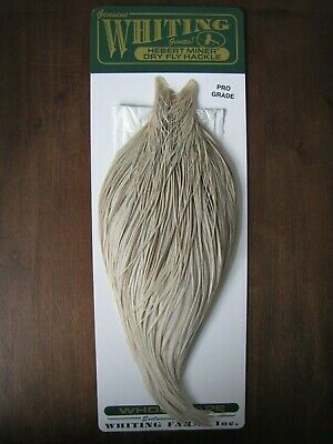 whitings and metz dry fly genuine genetic neck cape top bundles x 5