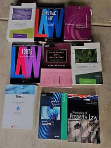 LAW TEXTBOOKS Burwood East Whitehorse Area Preview