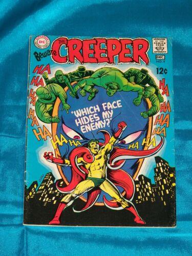 BEWARE THE CREEPER! # 4, Dec. 1968, STEVE DITKO ART, FINE / VERY FINE Condition