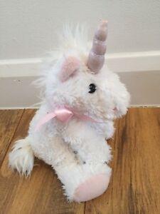 Russ Shining Stars Unicorn  White & Pink Plush Soft Toy