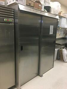 Bakery 3 Trolley Proover Full Stainless Steel Excellent Condition Morningside Brisbane South East Preview