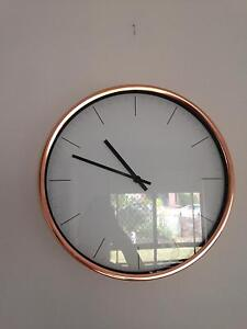 Rosegold clock Currumbin Waters Gold Coast South Preview