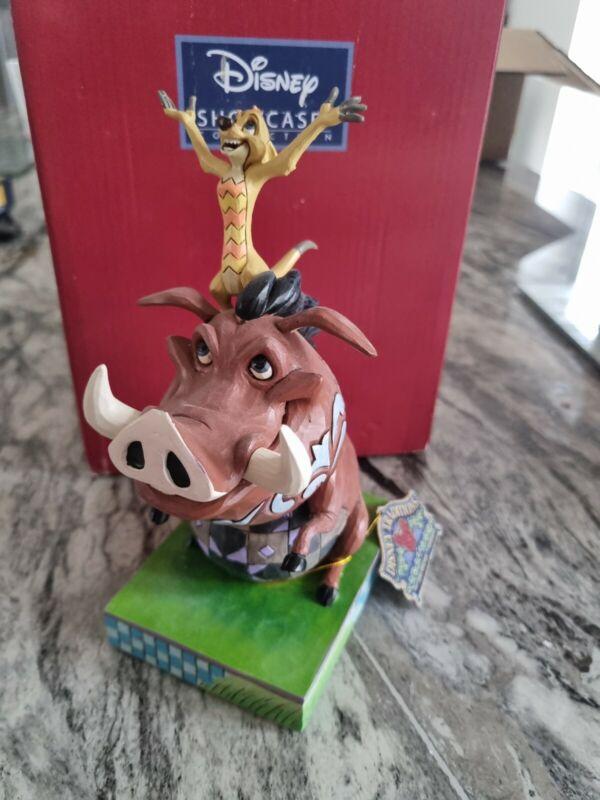 Disney Traditions Timon & Pumbaa Carefree Cohorts 4054281 see description