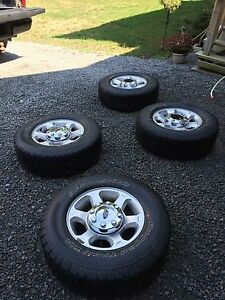 Ford F-250 Rims and Tires