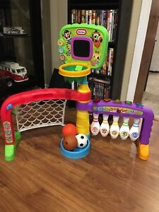 Little Tikes 3 in 1 sport zone toy