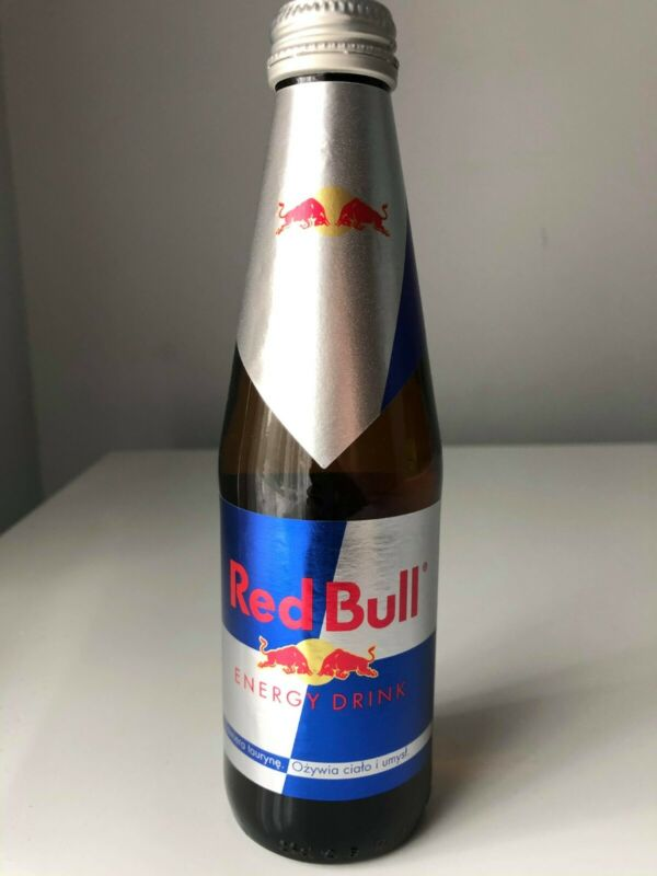 Red Bull European Full Sealed New 250 ml *RARE*