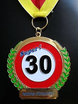 Orden zum 30. Geburtstag Medaille Abzeichen Geburtstagsorden Geschenk