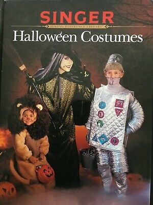 Singer Halloween Costumes, Sewing Book, 1997, Sewing Reference - Costume Reference Library