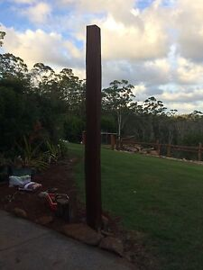 Square Hardwood feature posts Kilcoy Somerset Area Preview