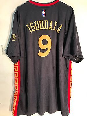 Adidas Swingman 14 15 Nba Jersey Green Golden State Warriors An Iguodala Grey 2X