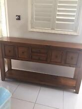 Dinning table matching hutch and mirror hinchinbrook Hinchinbrook Liverpool Area Preview