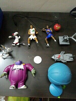 Bugs Bunny Accessories (Space Jam Movie Action Figures Accessories Ball Coin Jordan Barkley Bugs Bunny)
