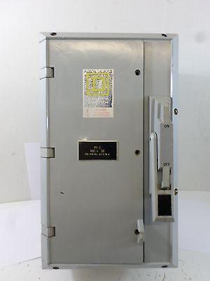 Square D Hu361dx Hu-361-dx 30 Amp 600 Volt Krydon Non-fused Safety Switch