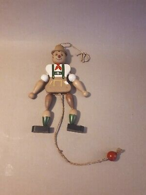 FOLK ART GERMAN WOODEN VINTAGE TOY