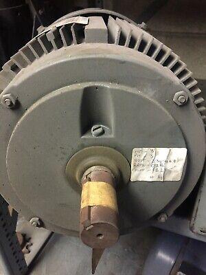 Marathon Electric Motor Frame 182t 3hp 1725 Rpm 3ph 208-230460 Volt