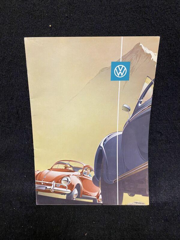 Volkswagen VW Bug Beetle Karma Ghia Brochure