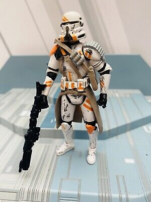 STAR WARS AOTC   ACTION  FIGURE MINT & LOOSE - AIRBORNE CLONE TROOPER