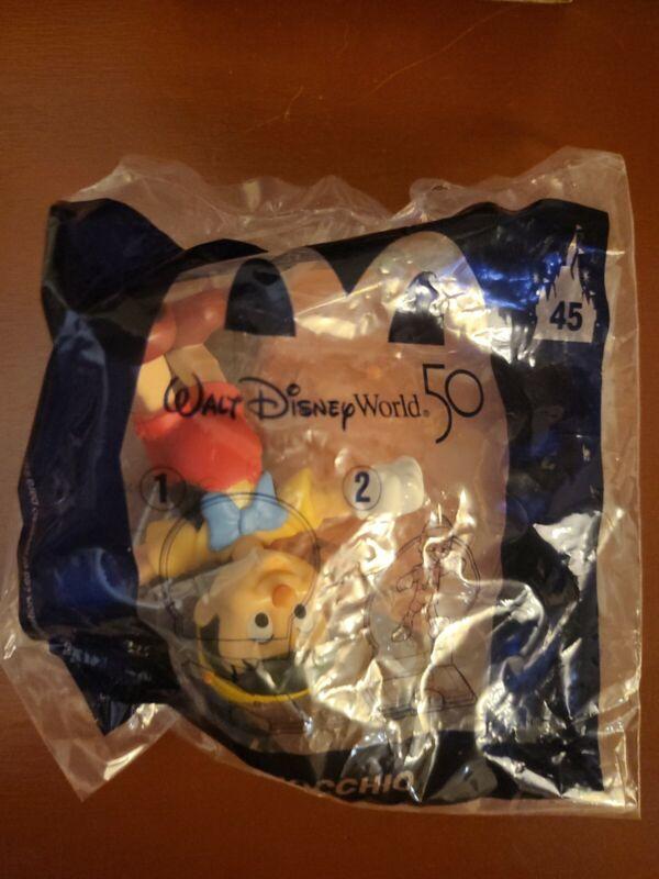 2021 McDonalds Walt Disney World 50th Anniversary Happy Meal Toy -#45 -Pinocchio
