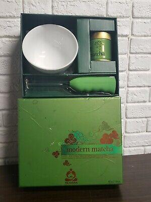 TEAVANA Modern Matcha Imperial Grade Green Tea Gift Set RARE! NEW in box