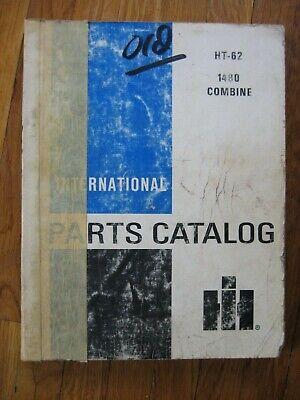 International 1480 Axial-flow Combine Parts Catalog Original Ht-62