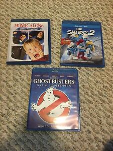 Home Alone, Ghostbusters. Blu-ray.