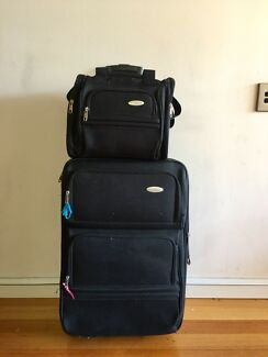 "Samsonite luggage set in good condition 26"" and small carry on"