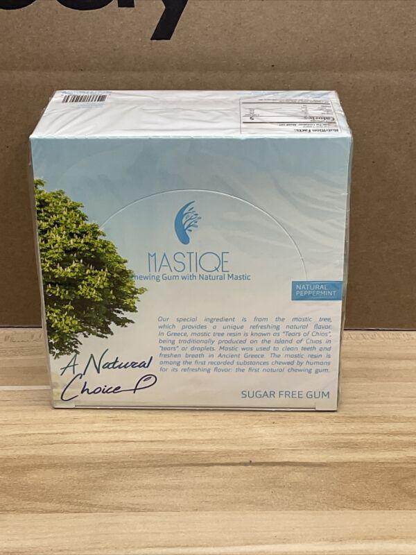MASTIQUE Mastic Chewing Gum 240-Count Sugar Free Natural Peppermint BB 7/2021