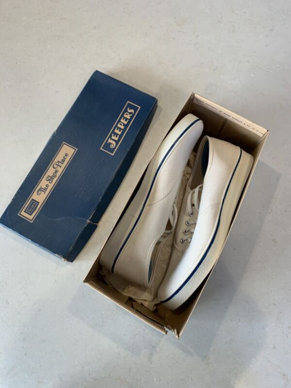 Vintage Sears Jeepers Canvas Shoes