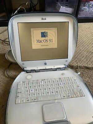 WORKING Apple Clamshell iBook G3; Battery NOT Included