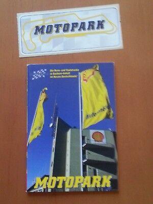 Motopark Oschersleben, 48 S. Broschüre klein + Aufkleber, 2002
