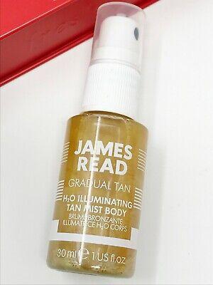 JAMES READ Gradual Tan H2O Illuminating Tan Mist Body Spray 30ml - Mini / Travel