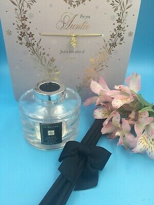 Jo Malone {EMPTY} LIME BASIL & MANDARIN DIFFUSER WITH REEDS & STOPPER