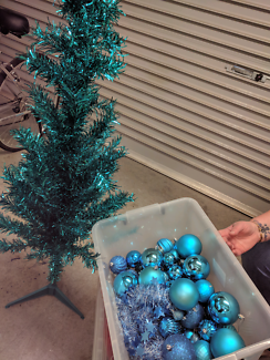 small blue christmas tree - Small Blue Christmas Tree
