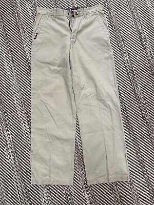 Quicksilver Chino Boys Youth Pants Beige Size 16 Quicksilver Boys Pants