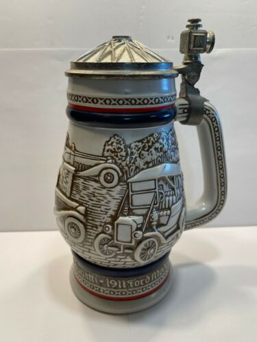 Vintage 1979 Avon Automobile Beer Stein - *Handcrafted in Brazil*