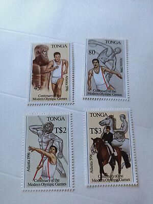 Tonga 1996 Olympic Games Atlanta Stamps Set MNH