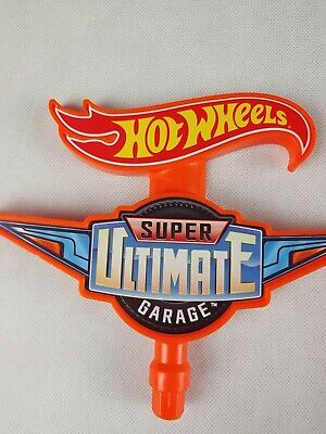 Hot Wheels Super Ultimate Garage Replacement Part - Spinning top Sign 2015